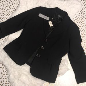 Talbots Grace Fit NWT Black Blazer